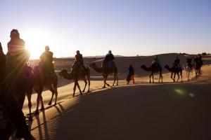Karawane, Marokko