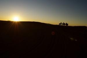 Karawane, Sahara, Marokko