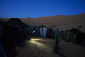 Zeltstadt, Sahara, Marokko