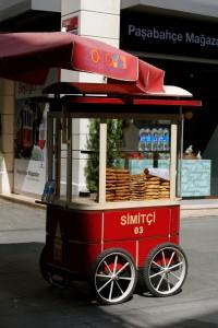 Sesame donut stall
