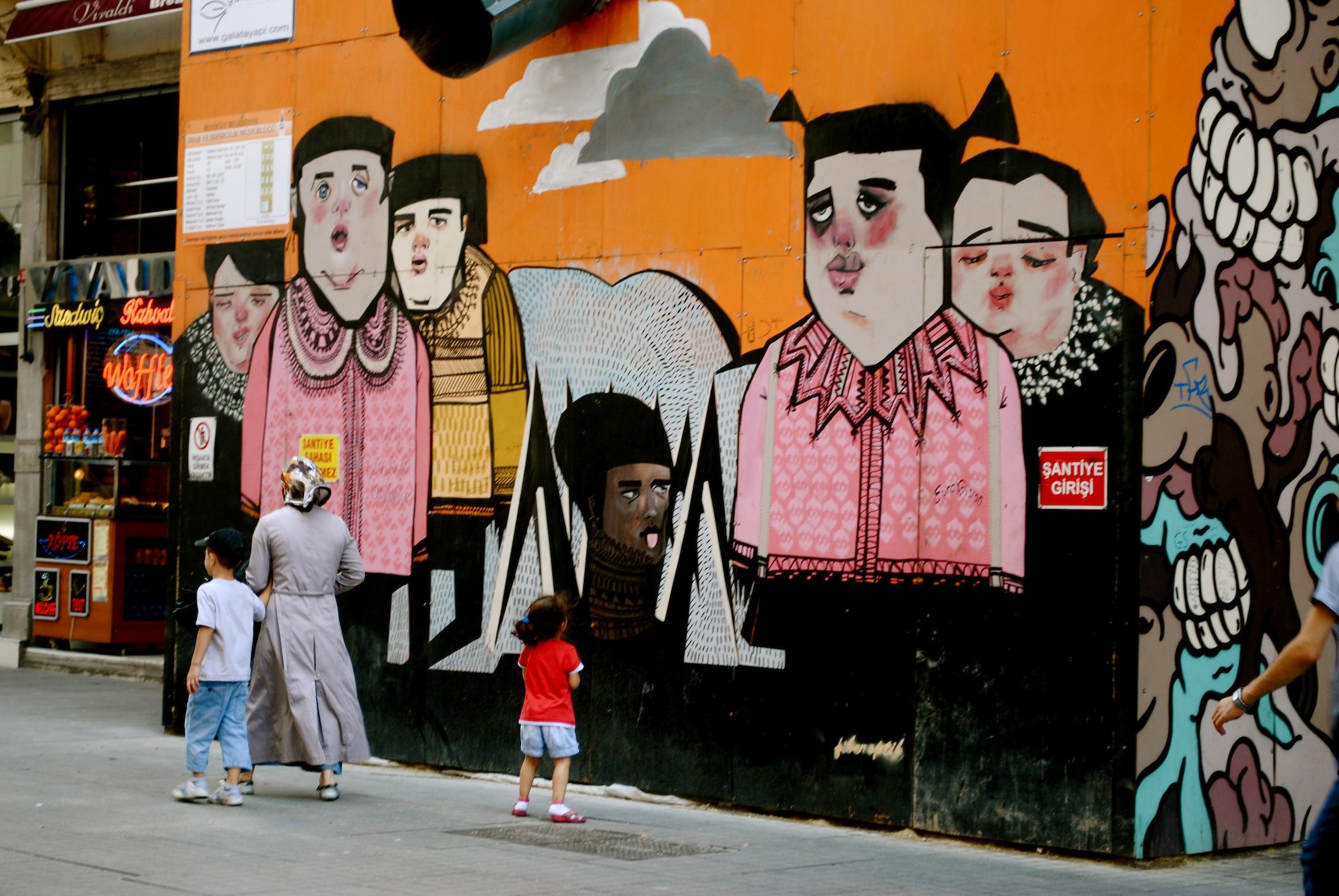 Graffiti, Istanbul