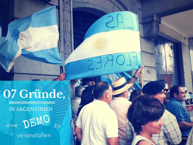 Demo Argentinien