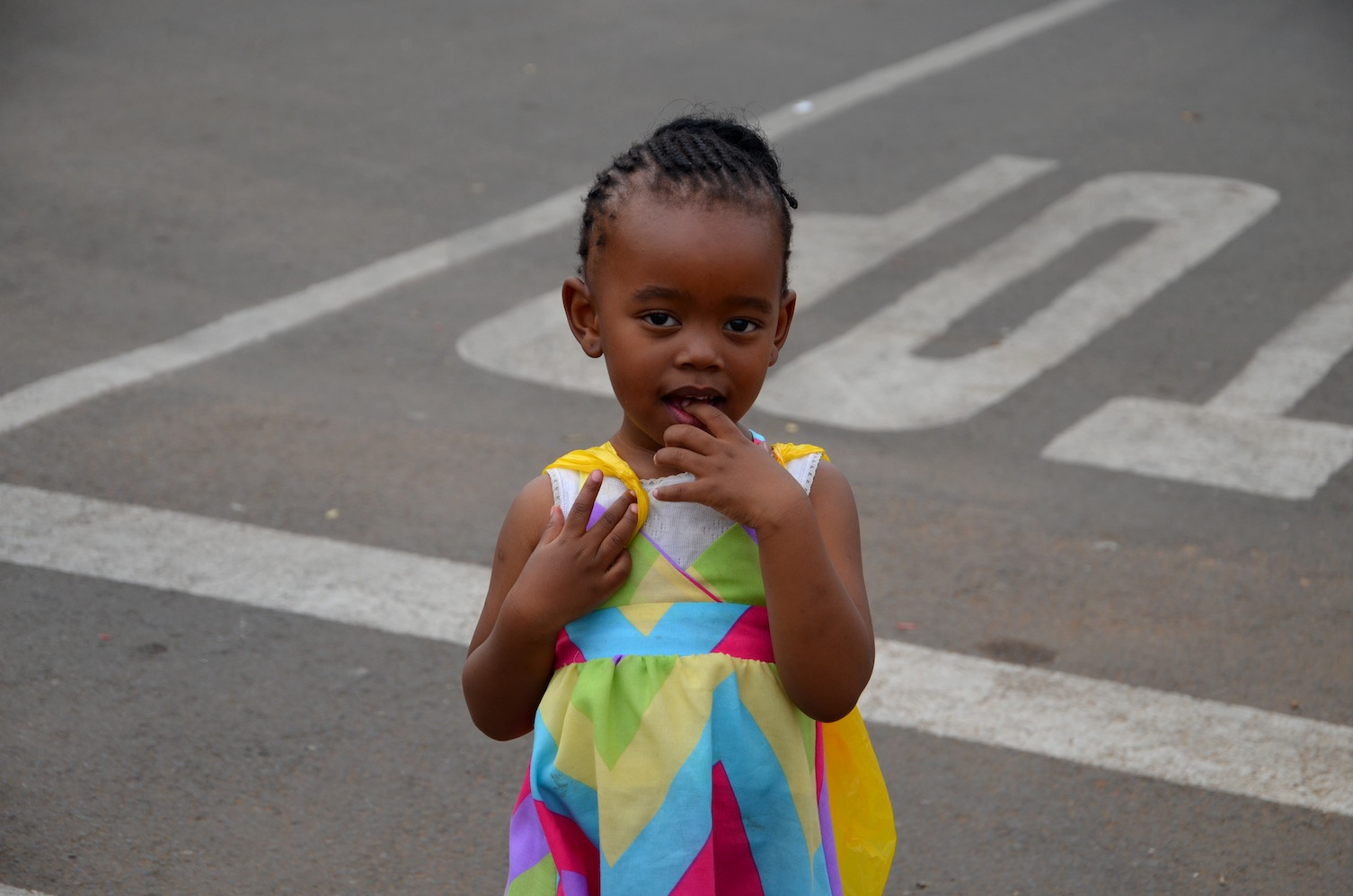 little girl, South Africa