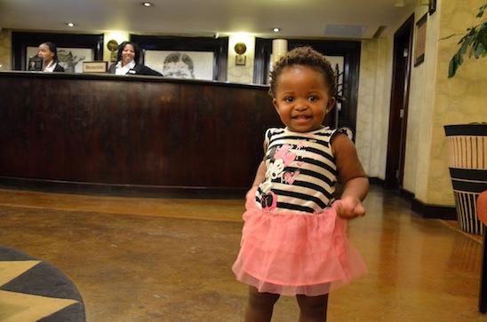 Girl, Soweto Hotel