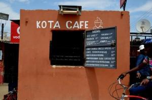 café in township