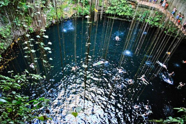 Cenote, Mexiko