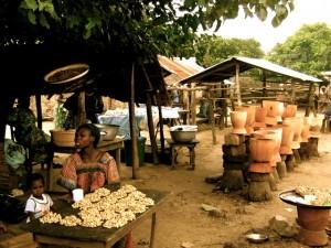 stall near Kara, Togo