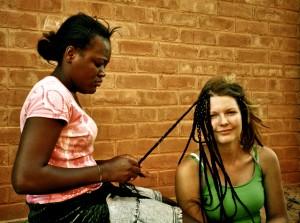 Hair dresser, Togo