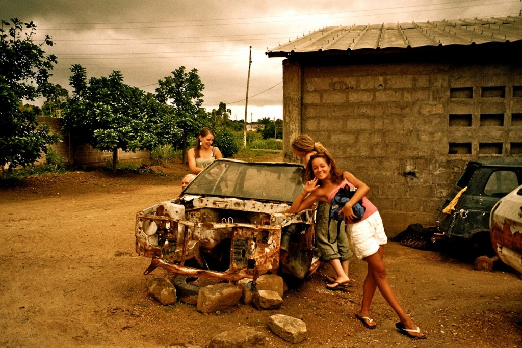 Car in Kara, Togo