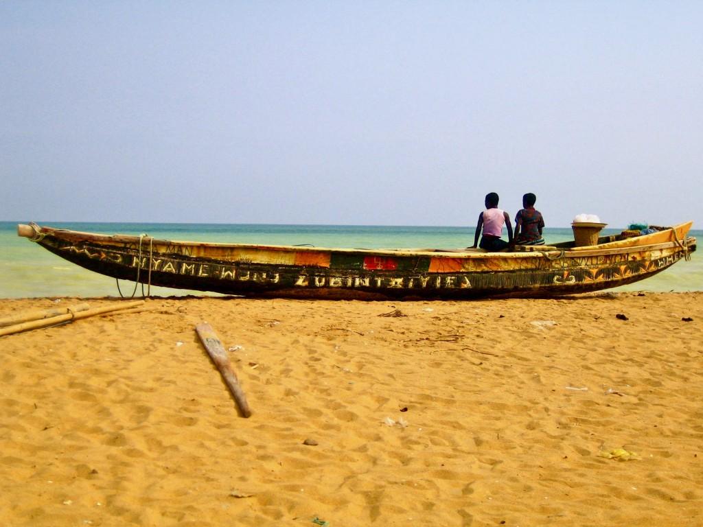 Beach in Aného