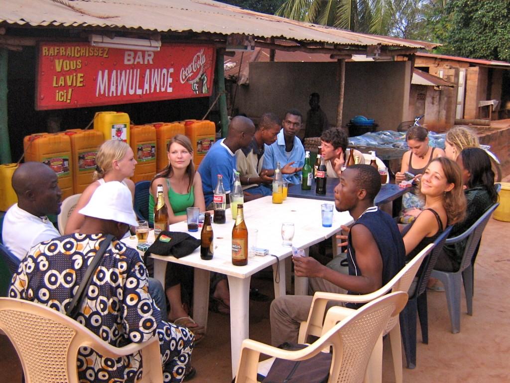 Bar in Akoumapé