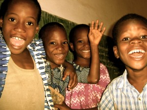 School kids in Togo