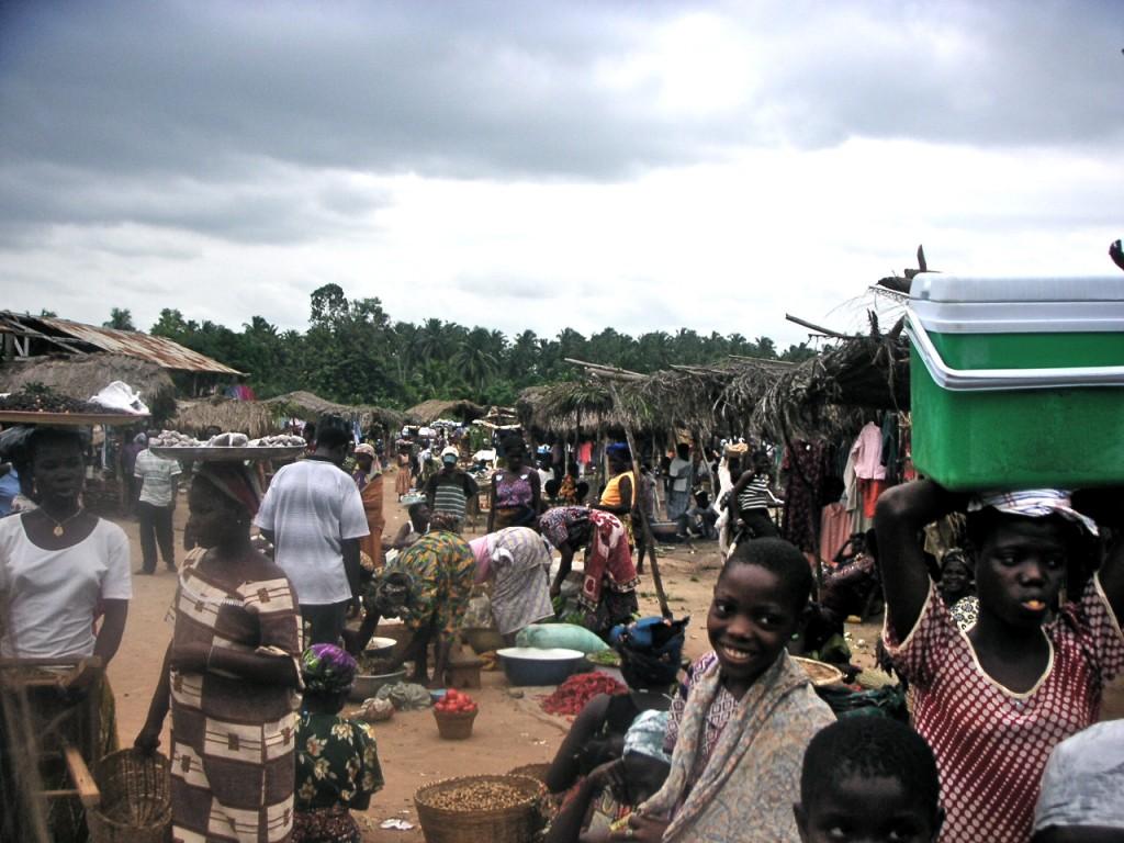 Market, Akoumapé