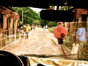 potholes in Togo