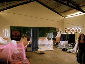Our beds in Togo