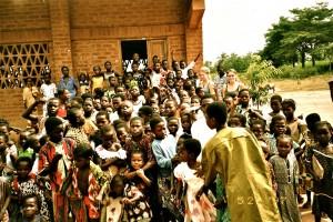 Schulklasse Togo