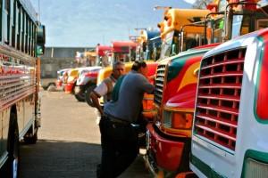 Busses, Guatemala