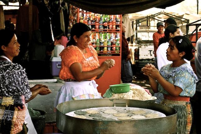 women, Antigua, Guatemala