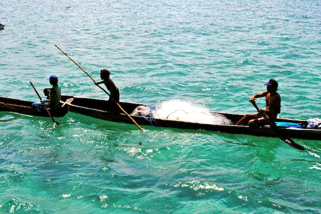 fishermen, San Blas, Panama