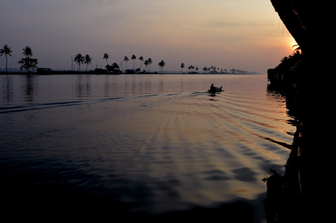 Backwaters, sunrise