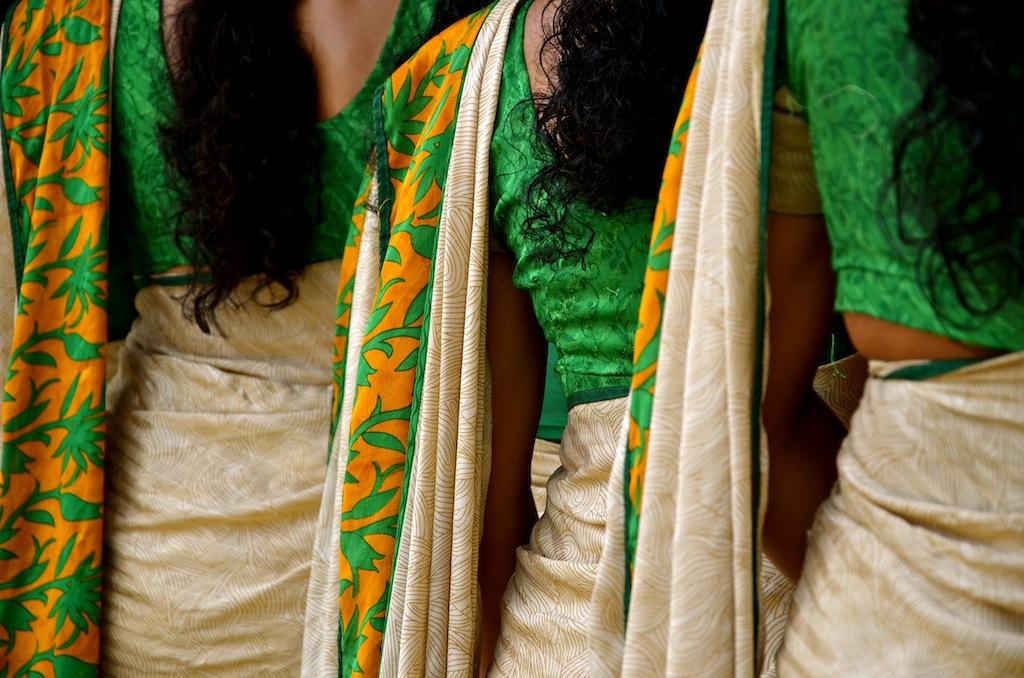 Sarees, India