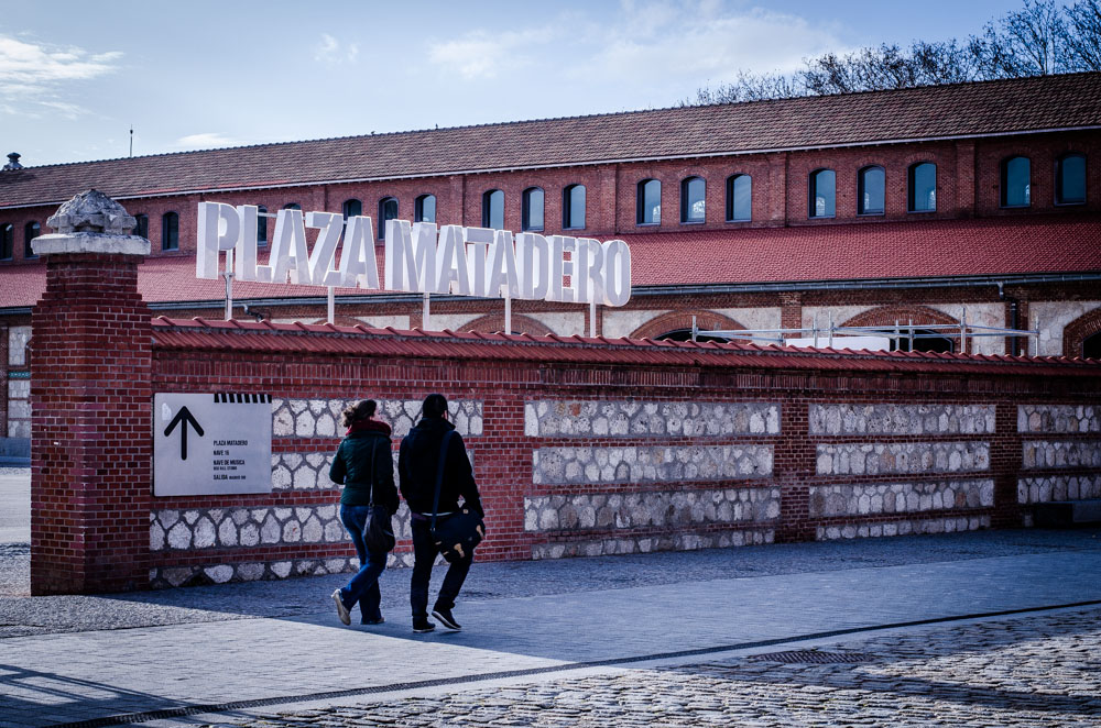 Plaza Matadero, Madrid