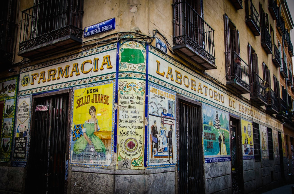 Apotheke Madrid