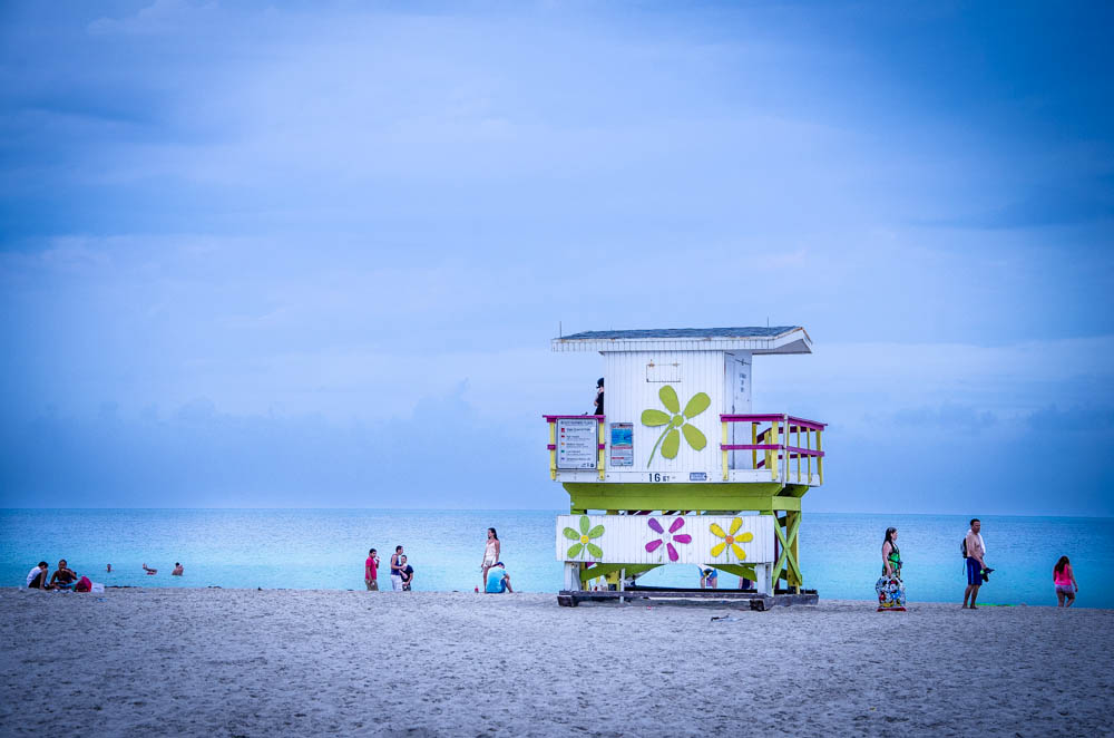 South Beach, life guard hut