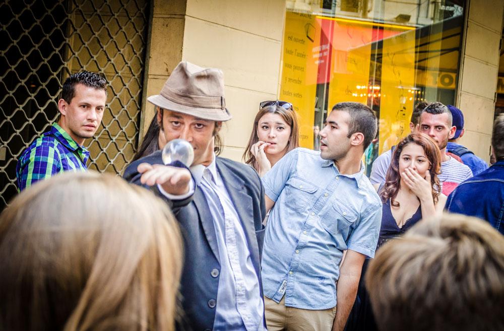 Straßenkünstler, Paris