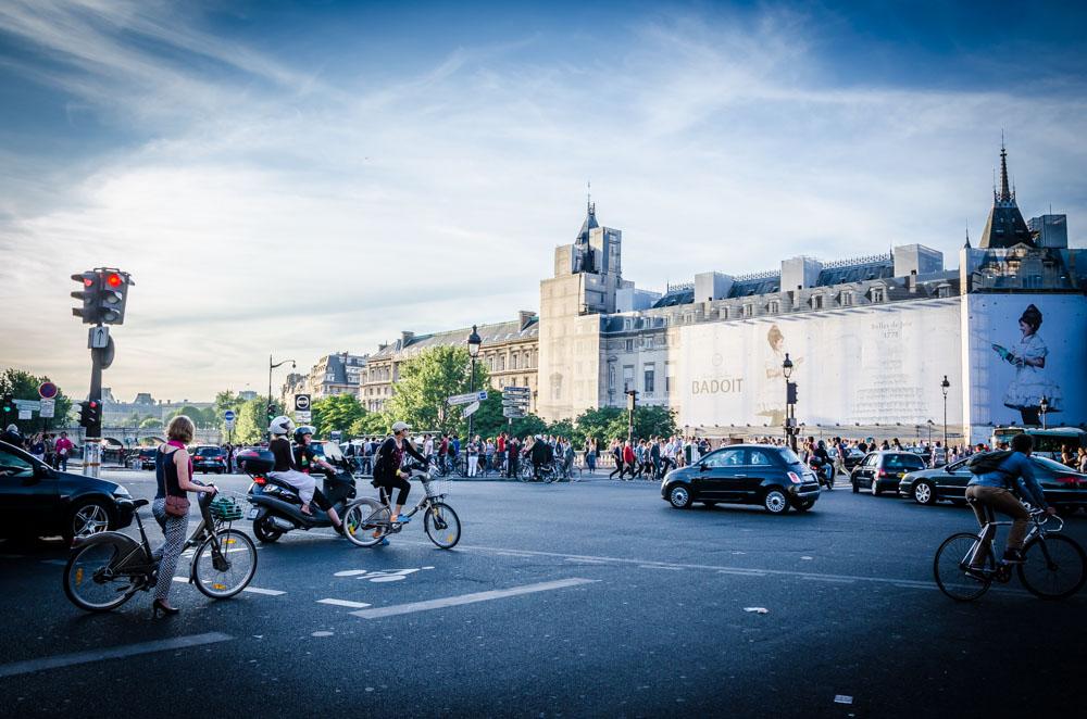 Kreuzung, Paris