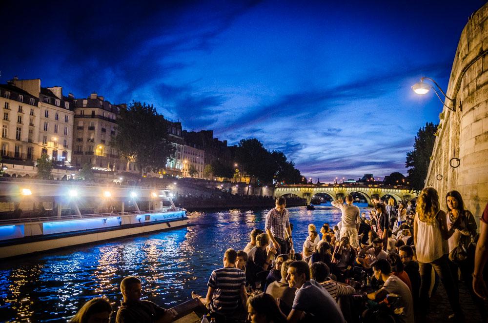Apero, Seine