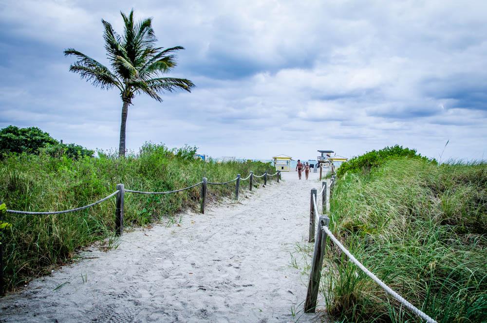 Regentag, south beach