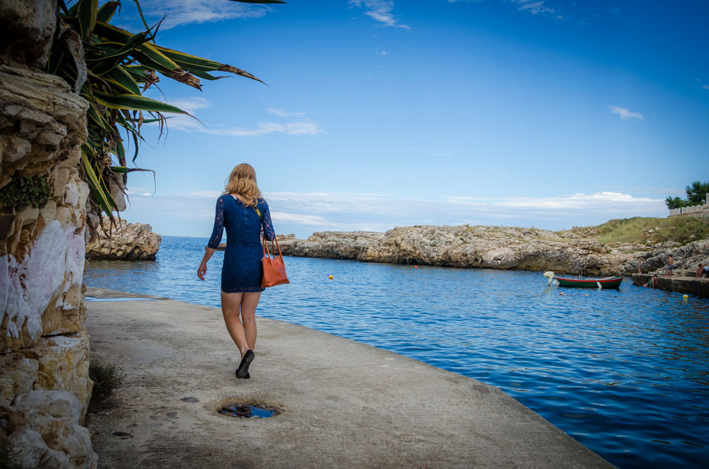 Polignano a mare. Apulien