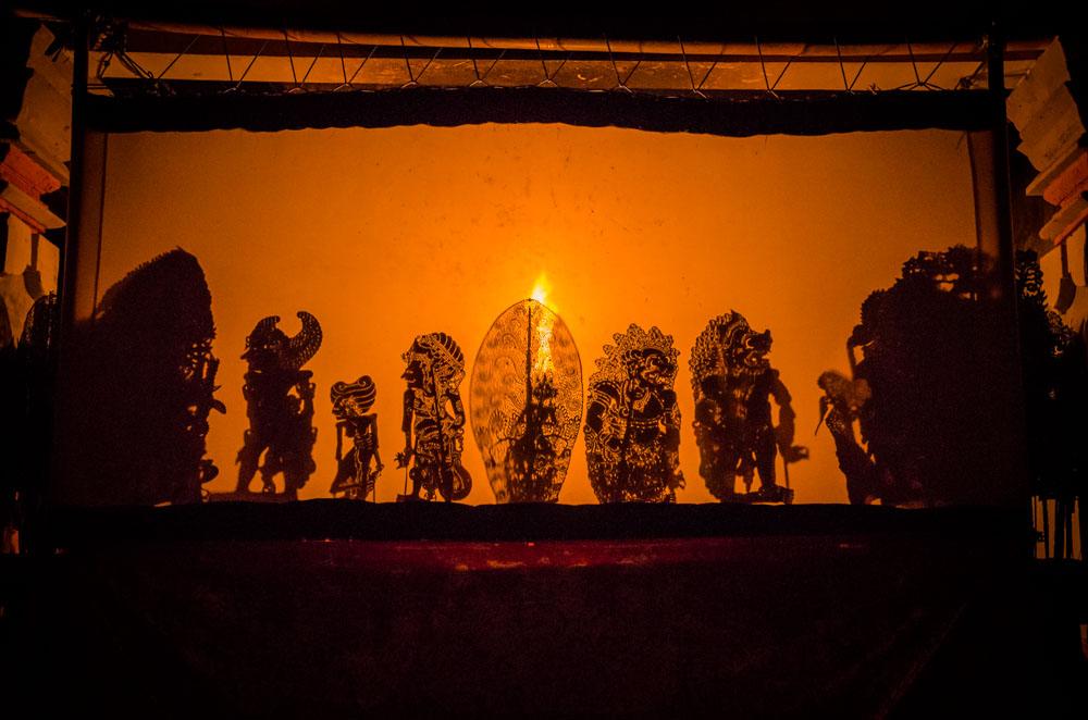 Schattentheater Bali