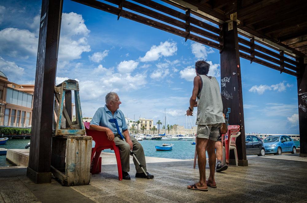 Bari, Italien, Hafen