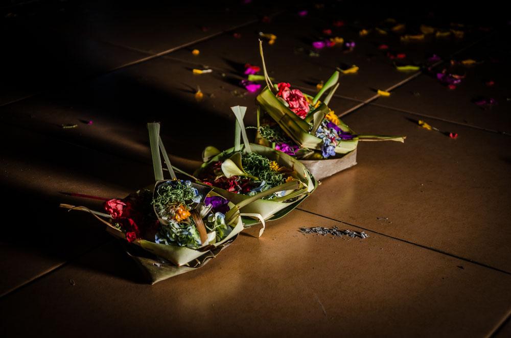 Opfergaben Bali