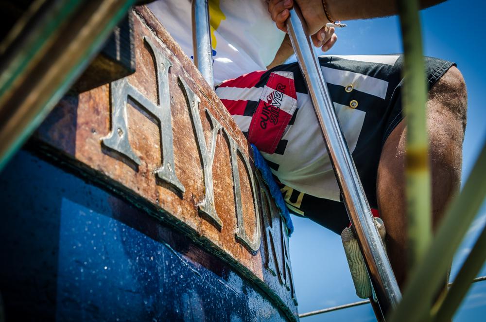 Bootsfahrt Apulien