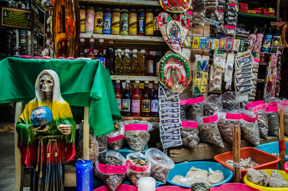witchcraft, Catemaco market