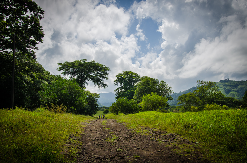 Benito Juarez, walk to waterfall
