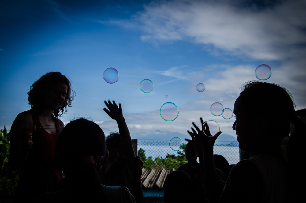 soap bubbles, Benito Juarez, Veracruz