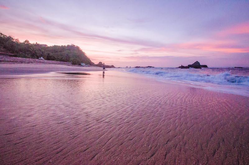 Strand Mazunte Sonnenaufgang