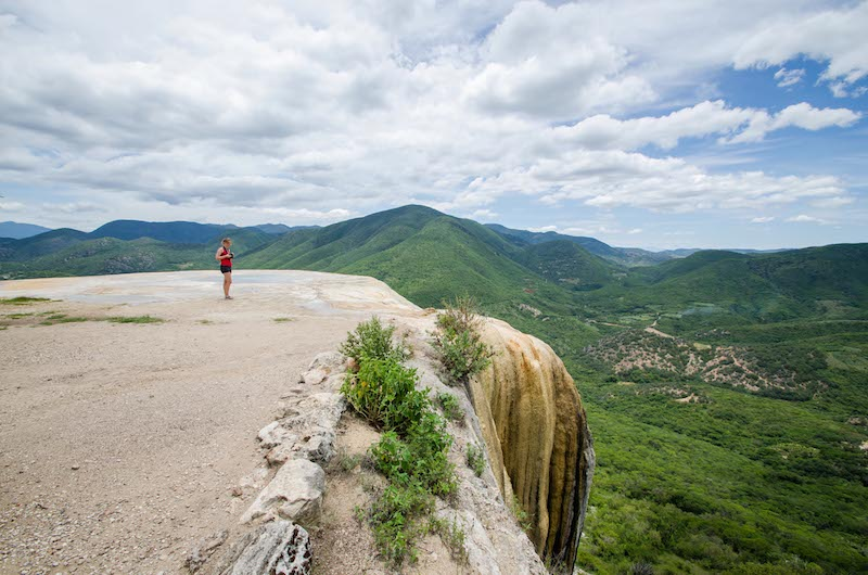 versteinerter Wasserfall Hierve el Agua