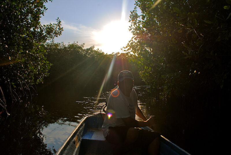 Bootsfahrt Chacahua