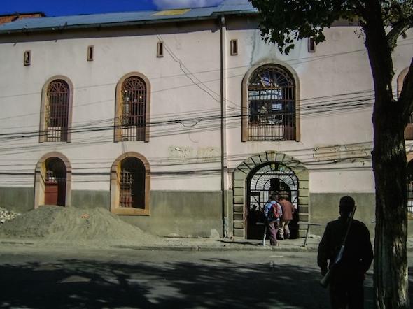 Knast San Pedro Bolivien