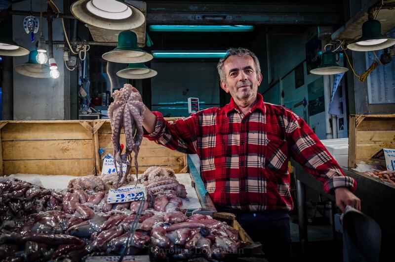 Fischmarkt Athen