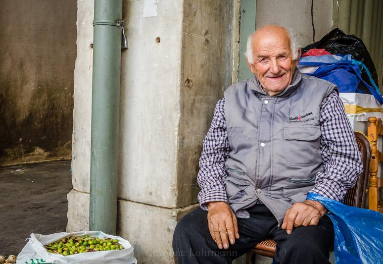 Olivenverkäufer Griechenland