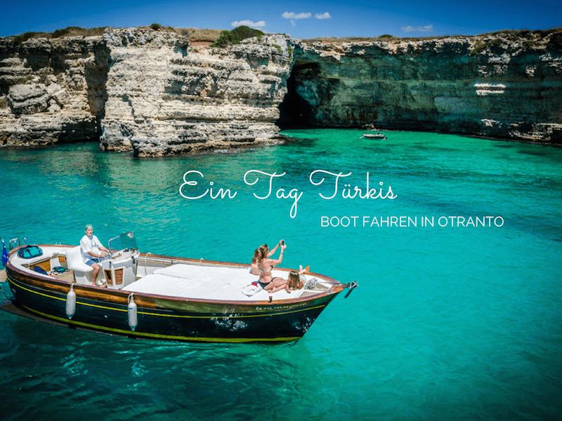 Bootfahren Otranto