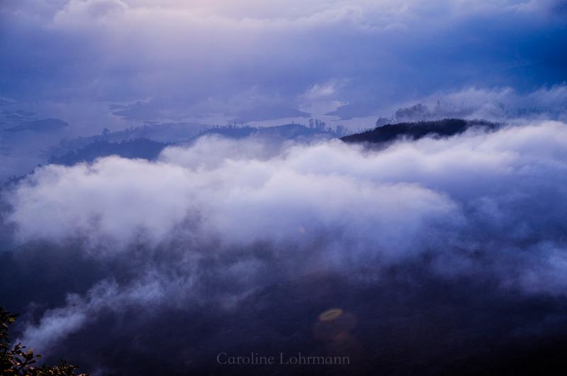 Wolken Adam´s Peak
