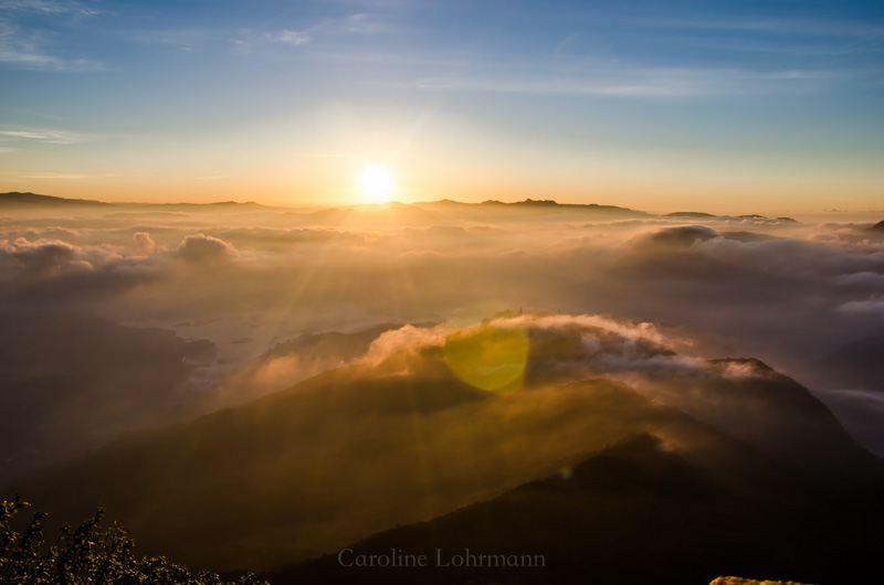 Sonnenaufgang Adams Peak