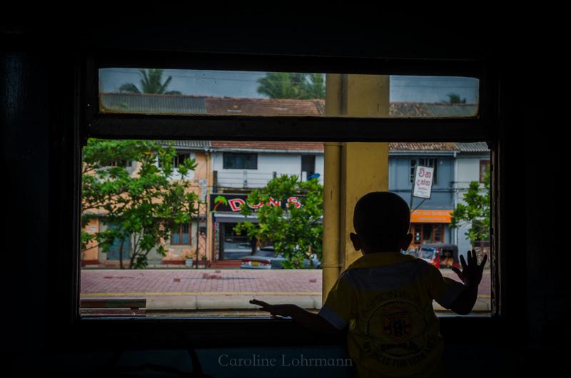 Zugfahren Sri Lanka
